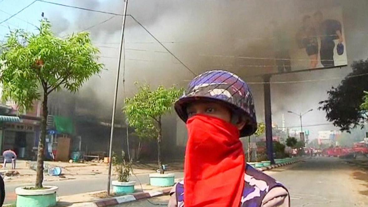 Střety mezi buddhisty a muslimy v Barmě