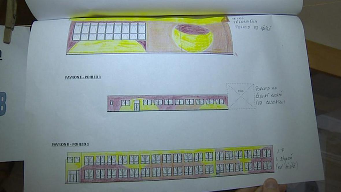 Návrh fasády podle Kateřiny Sobotkové