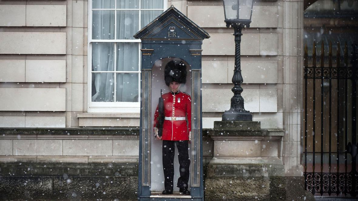 Zima v Británii