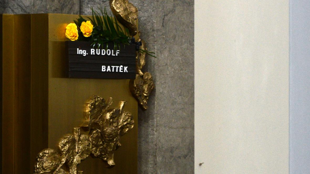 Pohřeb Rudolfa Battěka