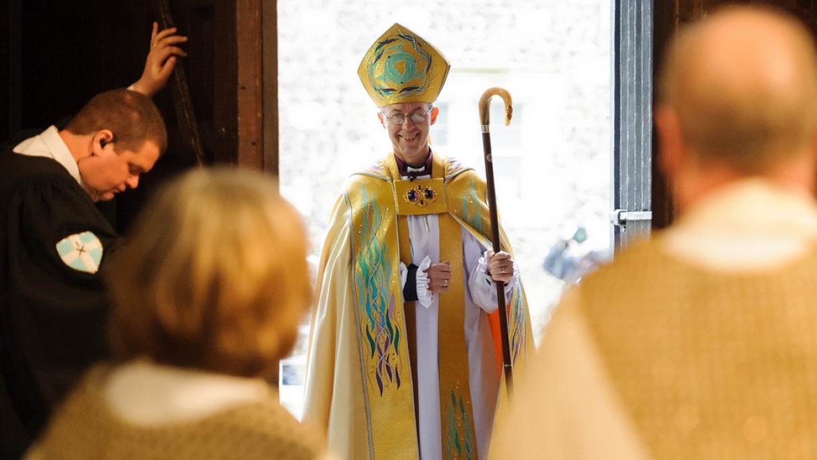 Justin Welby je novým arcibiskupem z Canterbury