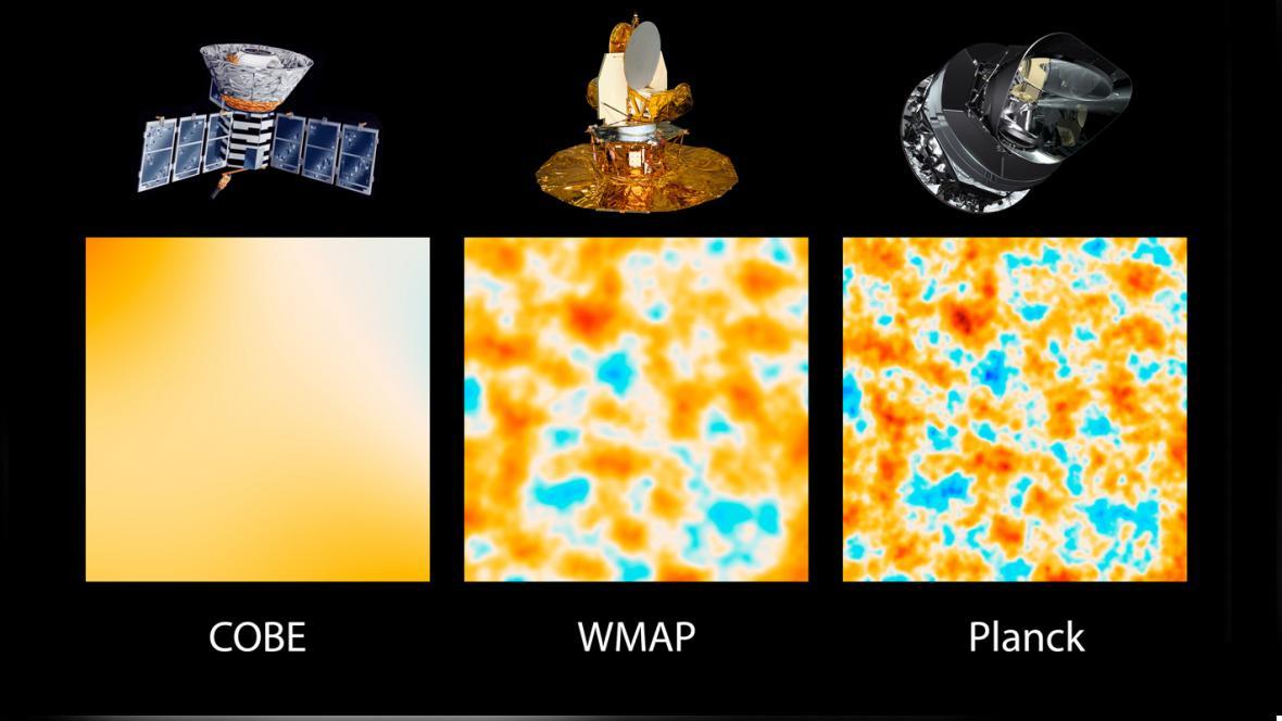 Jak satelity měřily reliktní záření po Velkém třesku