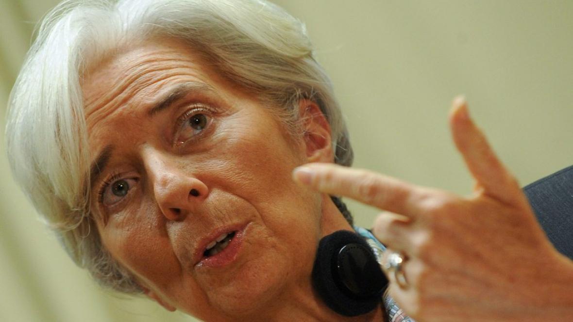 Generální ředitelka MMF Christine Lagardeová