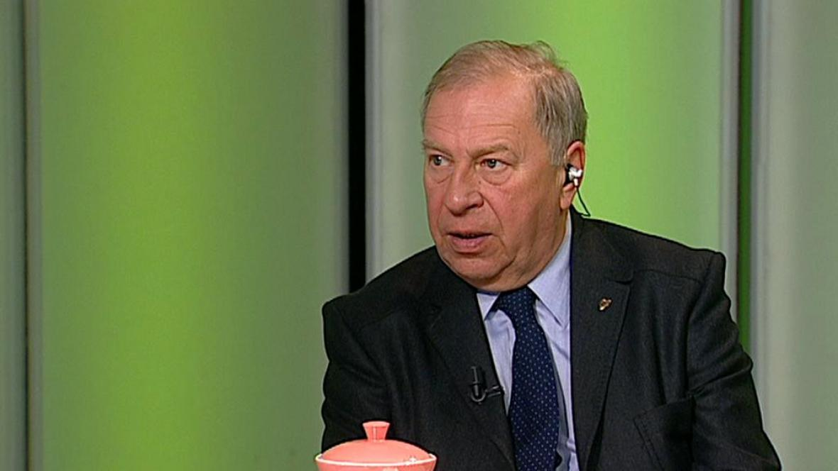 Polský herec a režisér Jerzy Stuhr