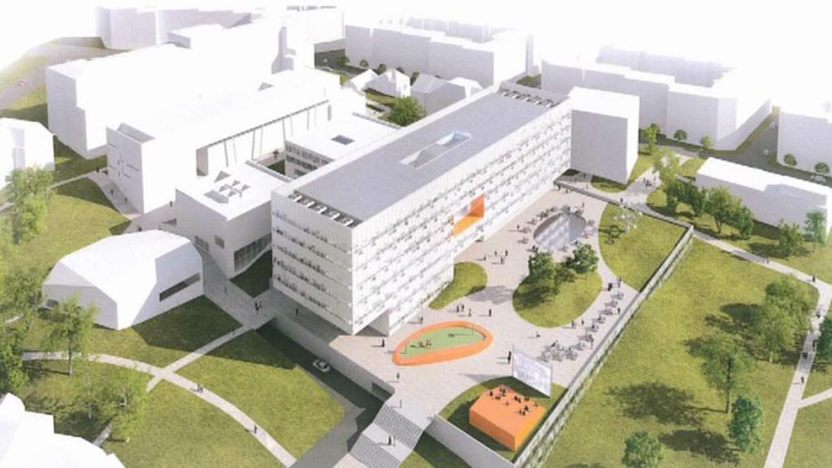 Vizualizace ústeckého kampusu