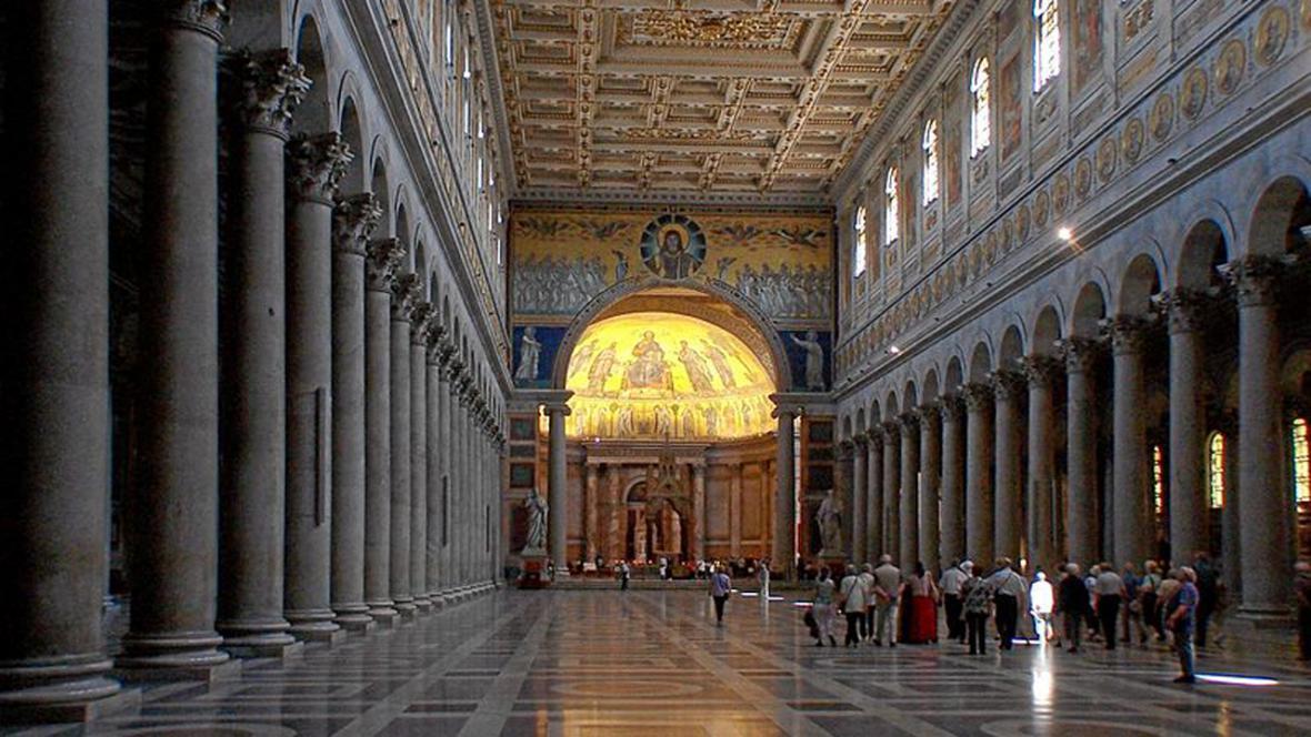 Bazilika sv. Pavla za hradbami