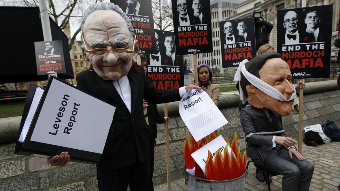 Britská média i premiér v područí Ruperta Murdocha