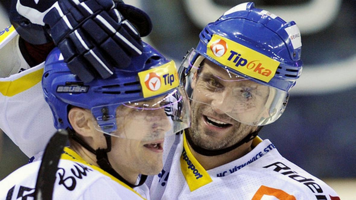 Viktor Ujčík (vlevo) a Jiří Burger