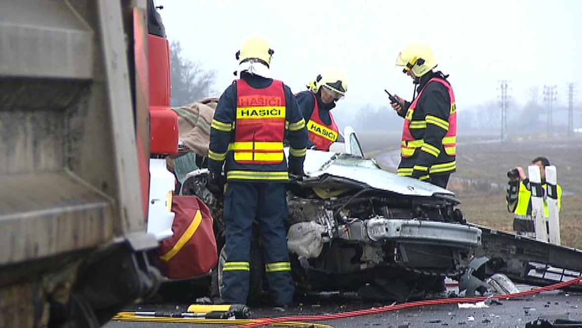 Zásah u autonehody