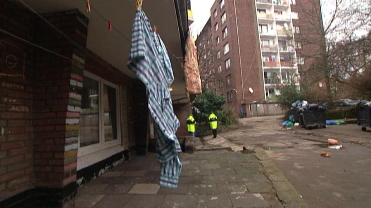 Romská čtvrť v Duisburgu