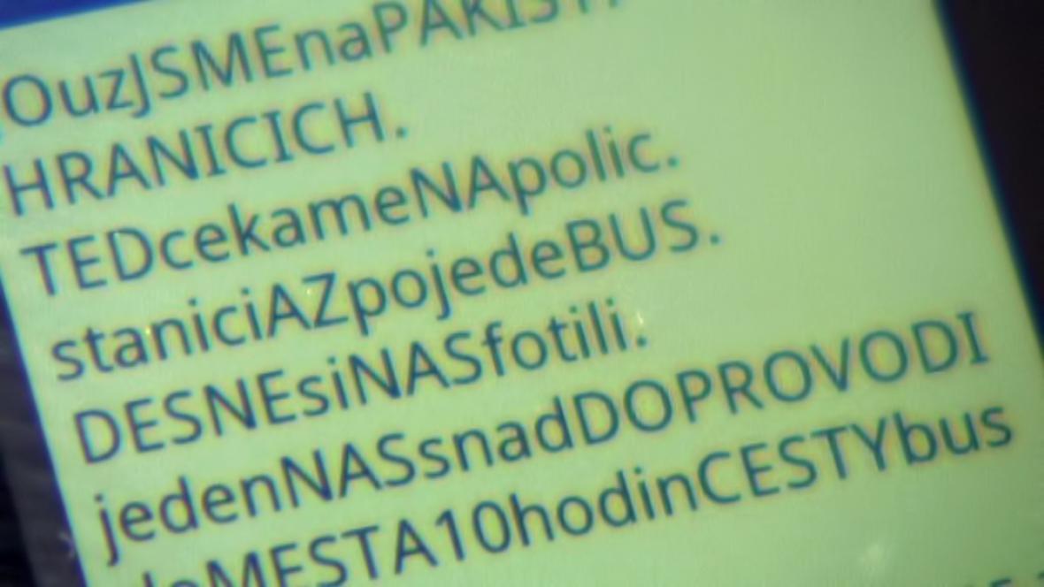 Poslední SMS od unesených českých děvčat