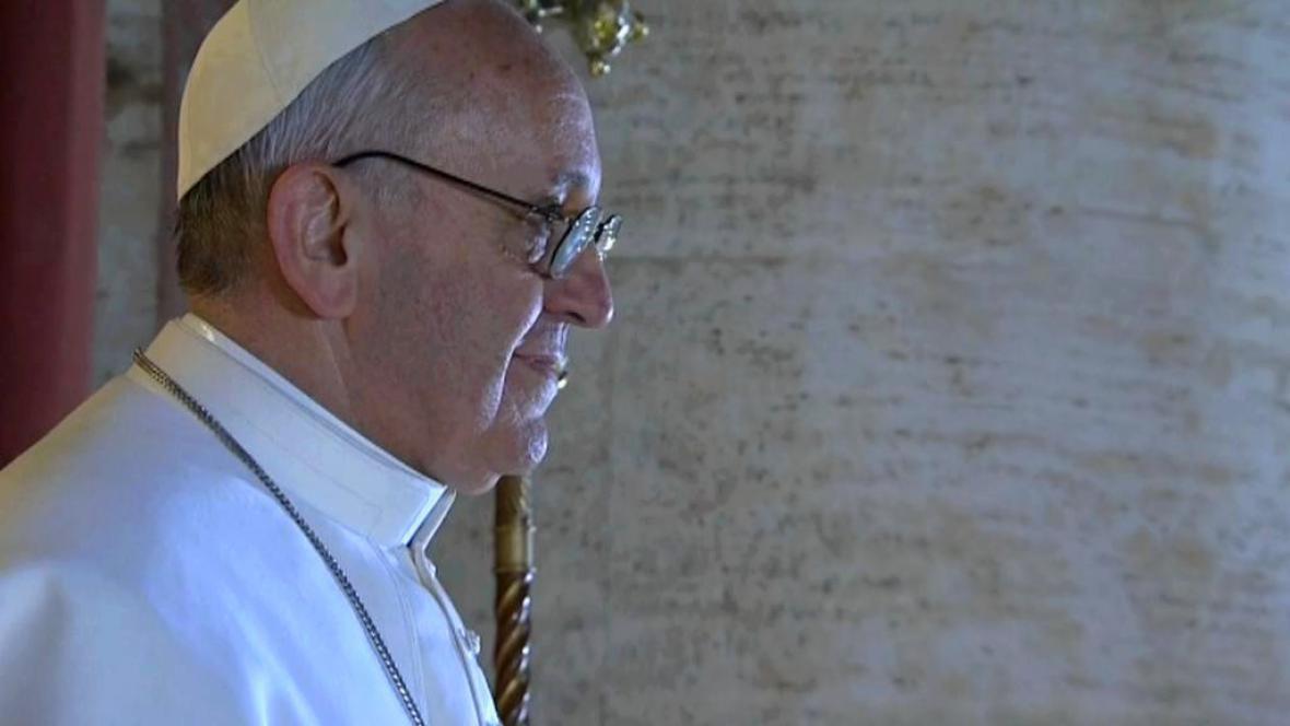 Nový papež přijal jméno František