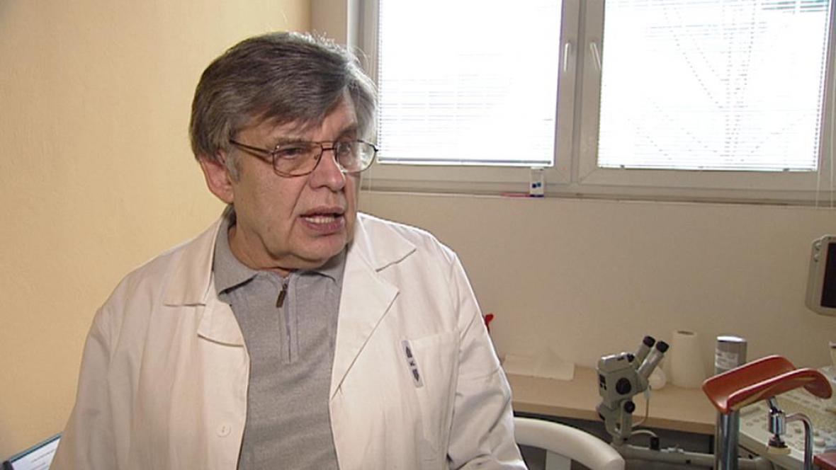 Gynekolog Václav Fišer