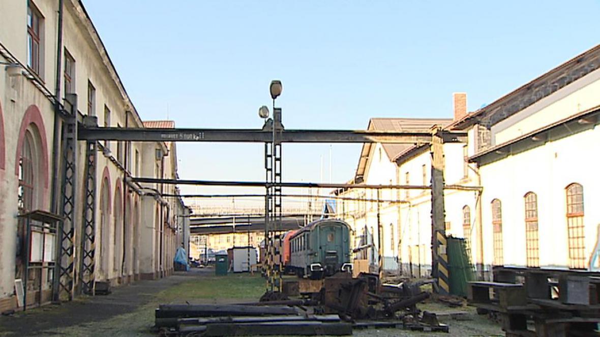Místo Železničního muzea NTM