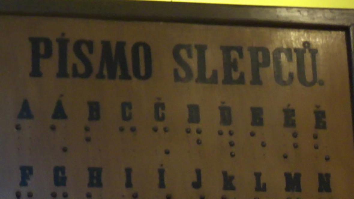Ukázka slepeckého písma