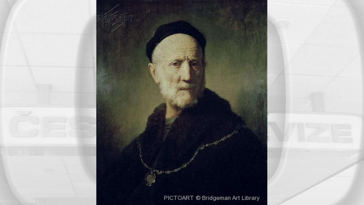Portrét Rembrandtova otce