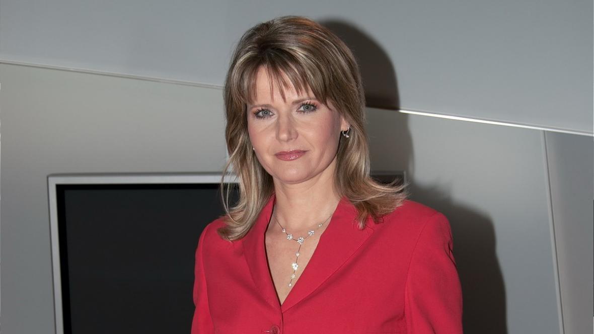 Moderátorka Lenka Solanská