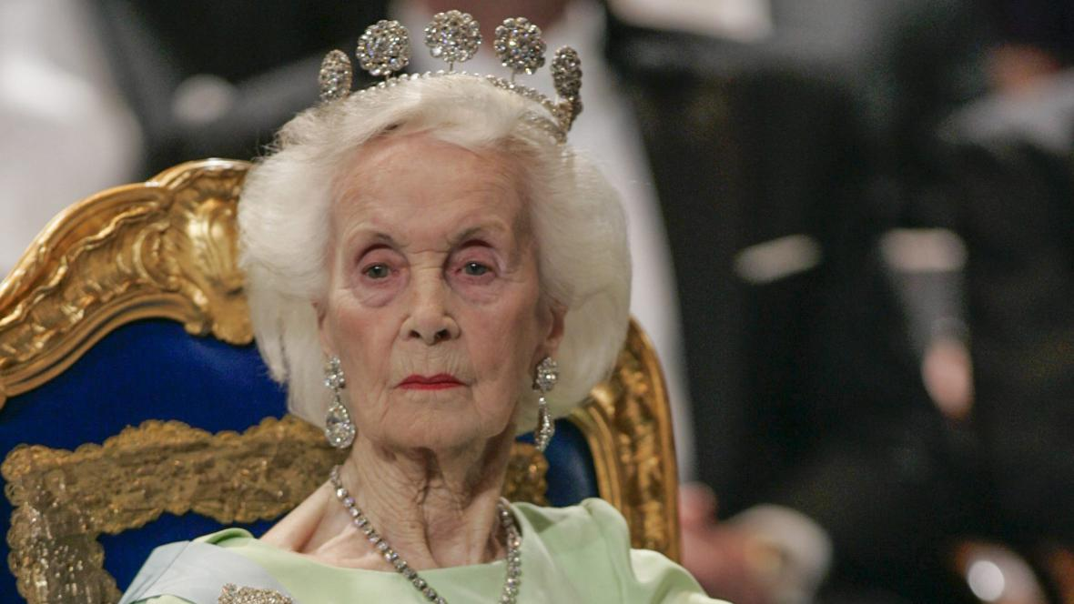 Švédská princezna Lilian
