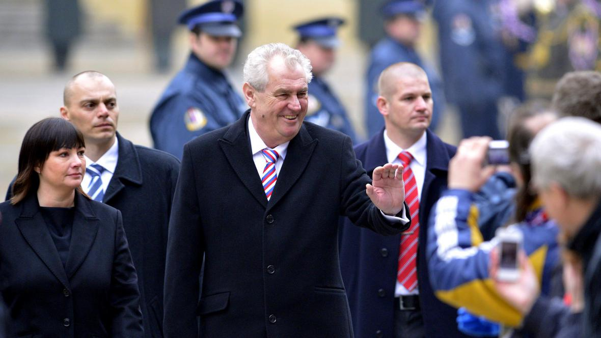 Miloš Zeman složil prezidentský slib
