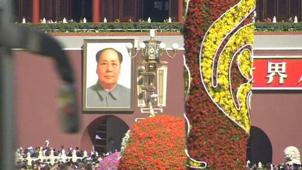 Portrét Mao Ce-tunga