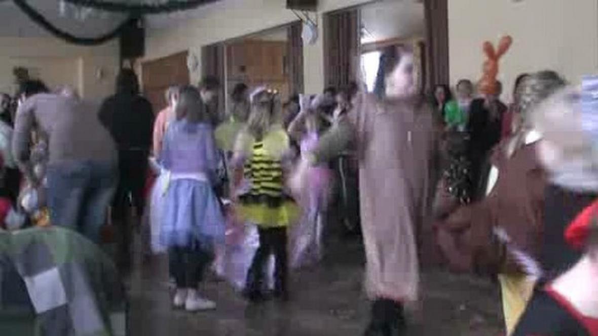 Dětský karneval v Poběžovicích