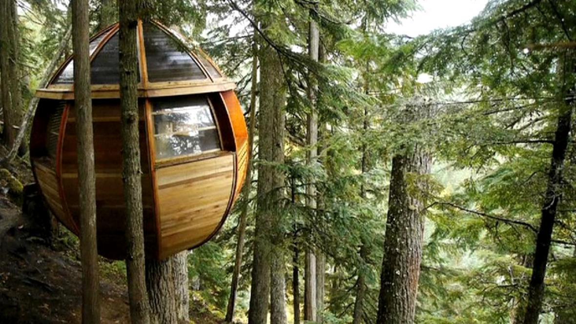 Ekologické stavby v Kanadě