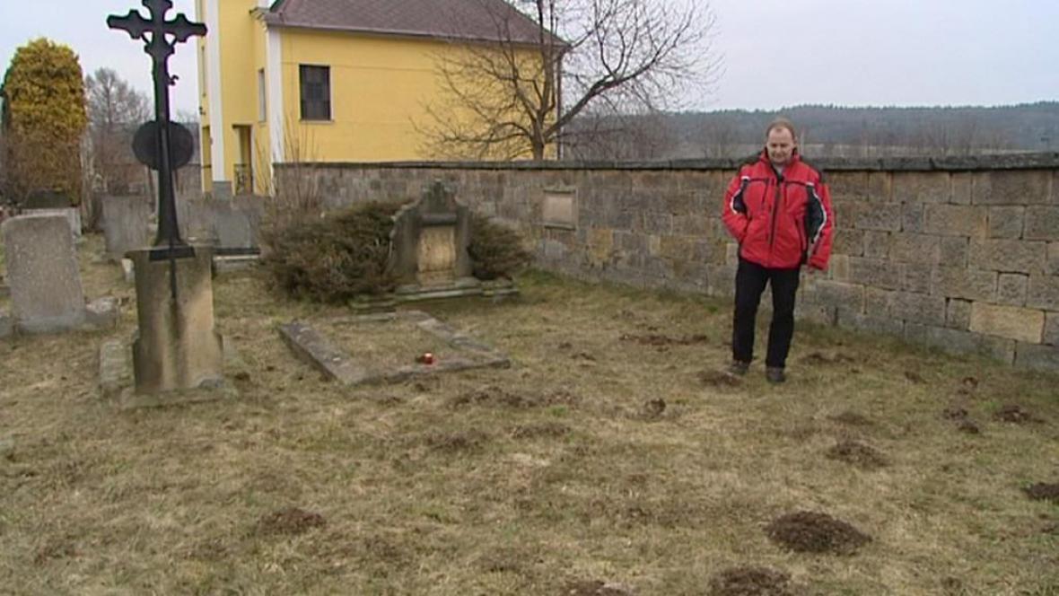 Hrob německých vojáků