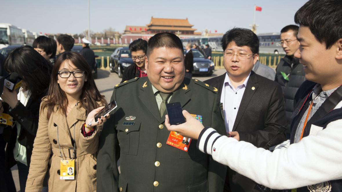 Mao Ce-tungův vnuk Mao Sin-jü