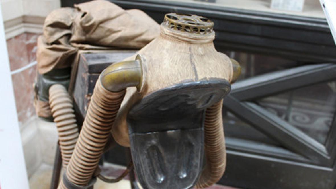Plynová maska pro koně