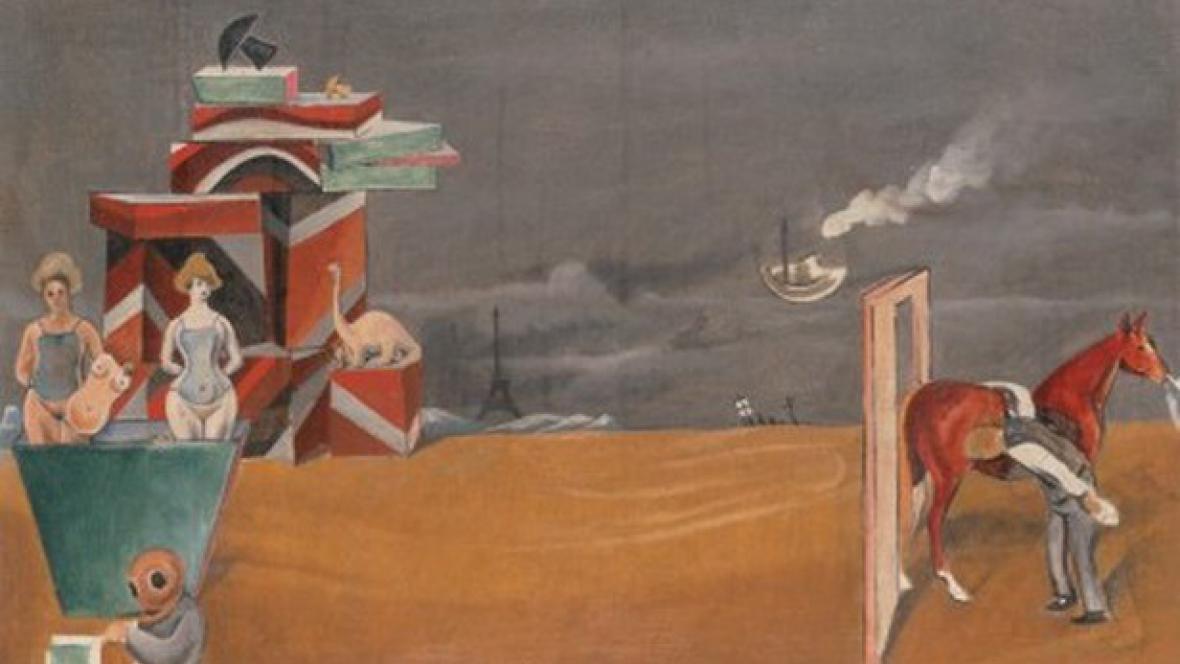 Max Ernst - Inspekce koně