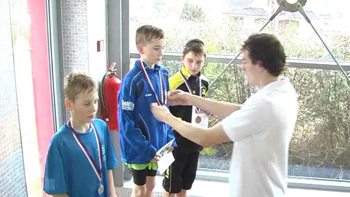 Vítězové plaveckých závodů v Boskovicích