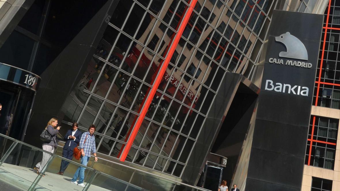 Sídlo společnosti Bankia v Madridu