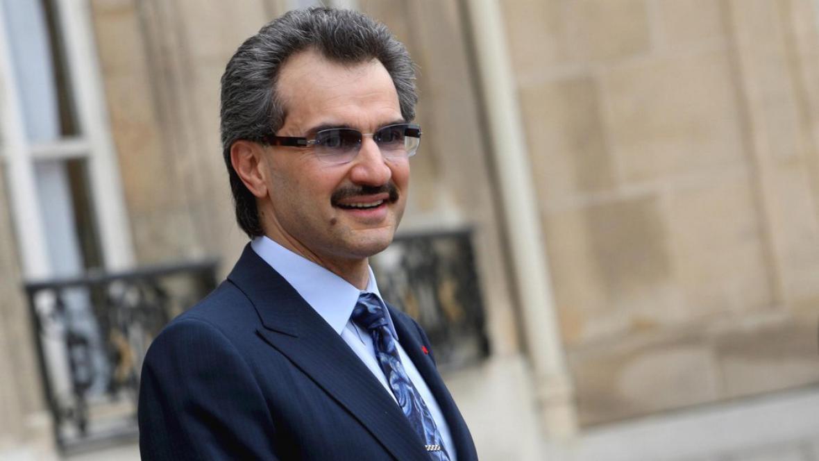Saúdskoarabský princ Valíd bin Talál