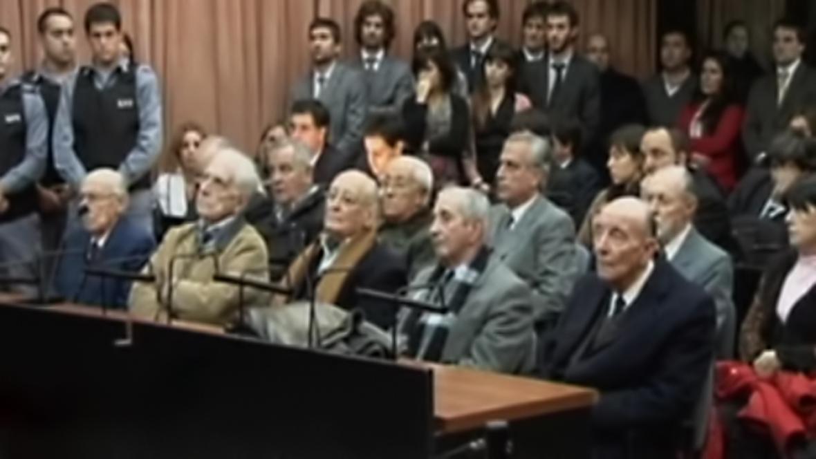 Členové argentinské junty před soudem