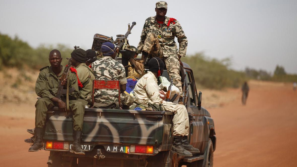 Maliské ozbrojené jednotky