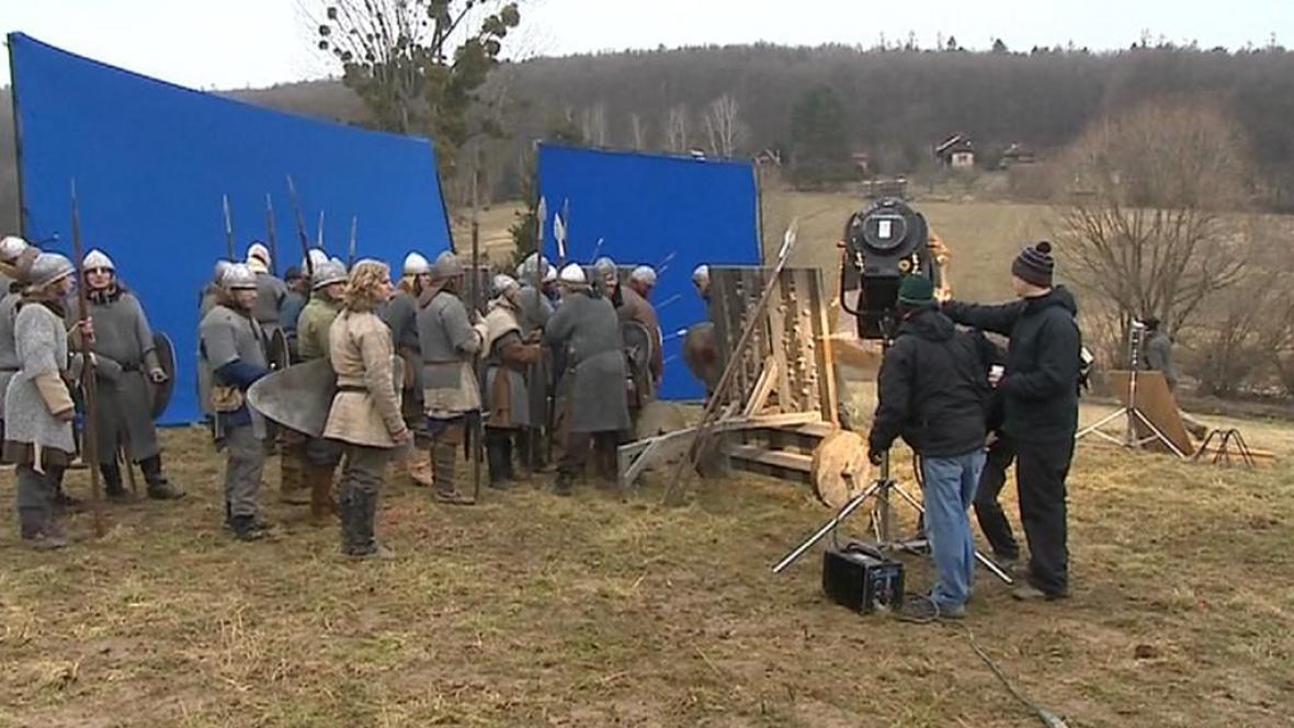 Natáčení dokudramatu o Cyrilu a Metodějovi