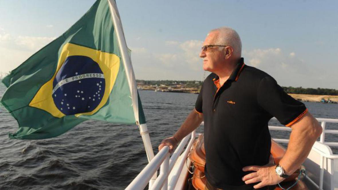 Václav Klaus na Rio Negro (2009)