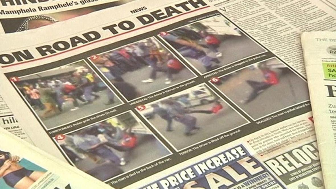JAR je pobouřena brutálním chováním policie