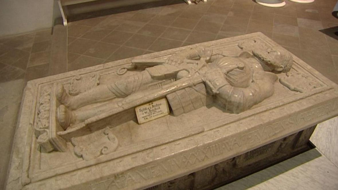 Hrobka Vojtěcha z Pernštejna