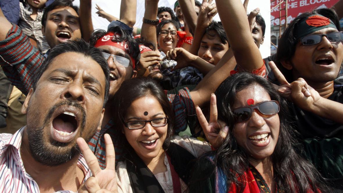 Nepokoje v Bangladéši