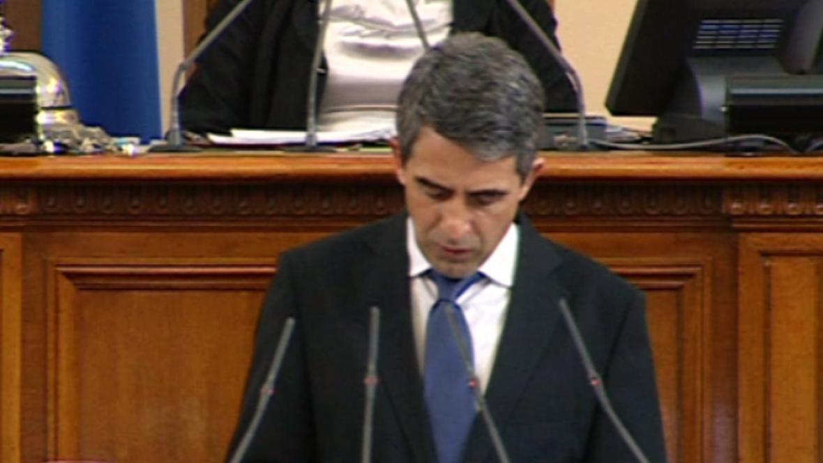 Bulharský prezident Rosen Plevneliev