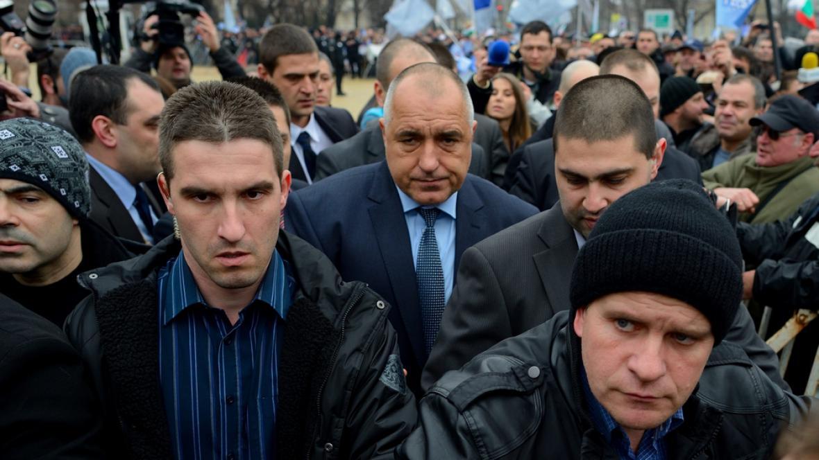 Bojko Borisov po oznámení rezignace vlády