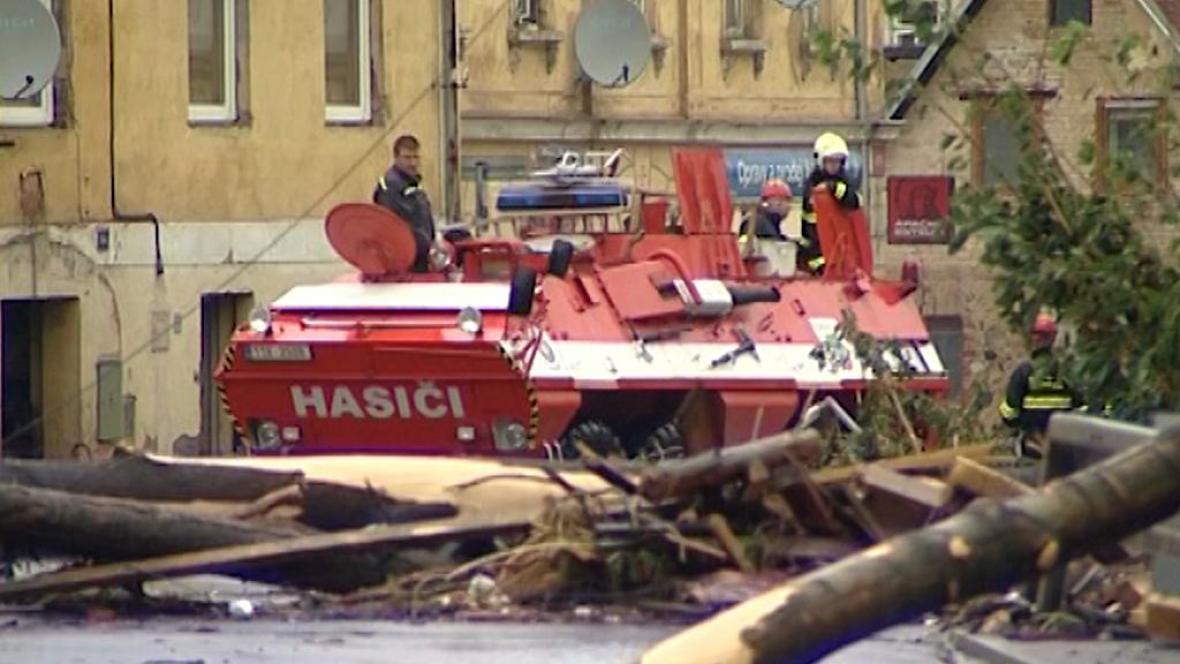 Povodně na Frýdlantsku