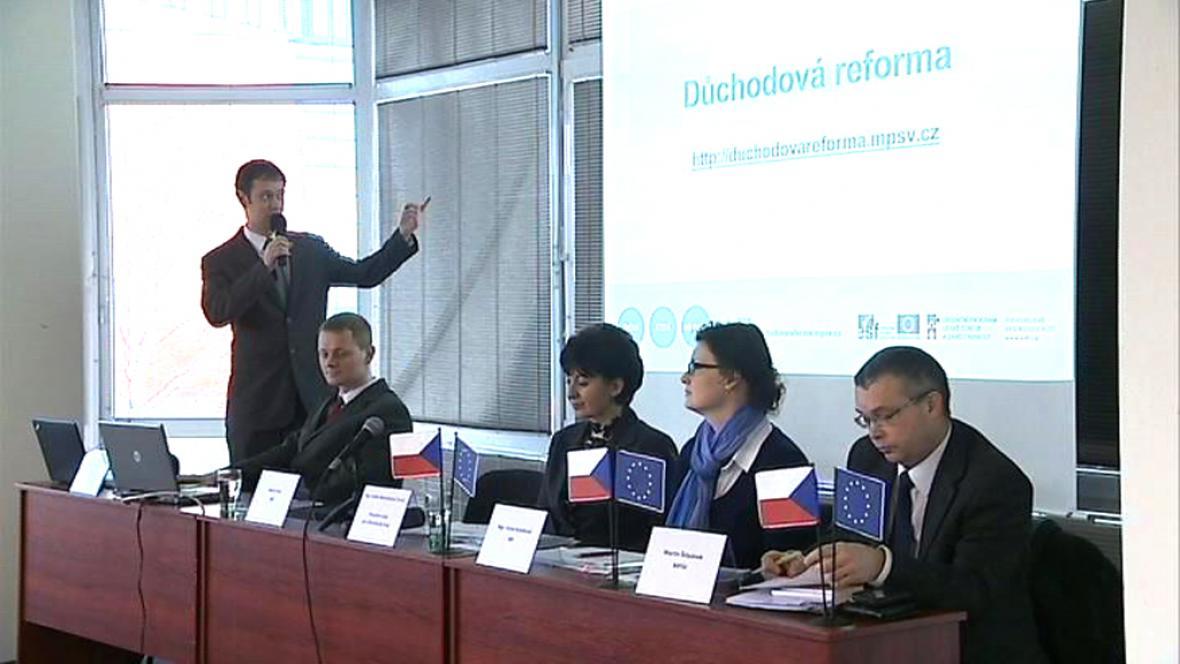 Z přednášky o důchodové reformě