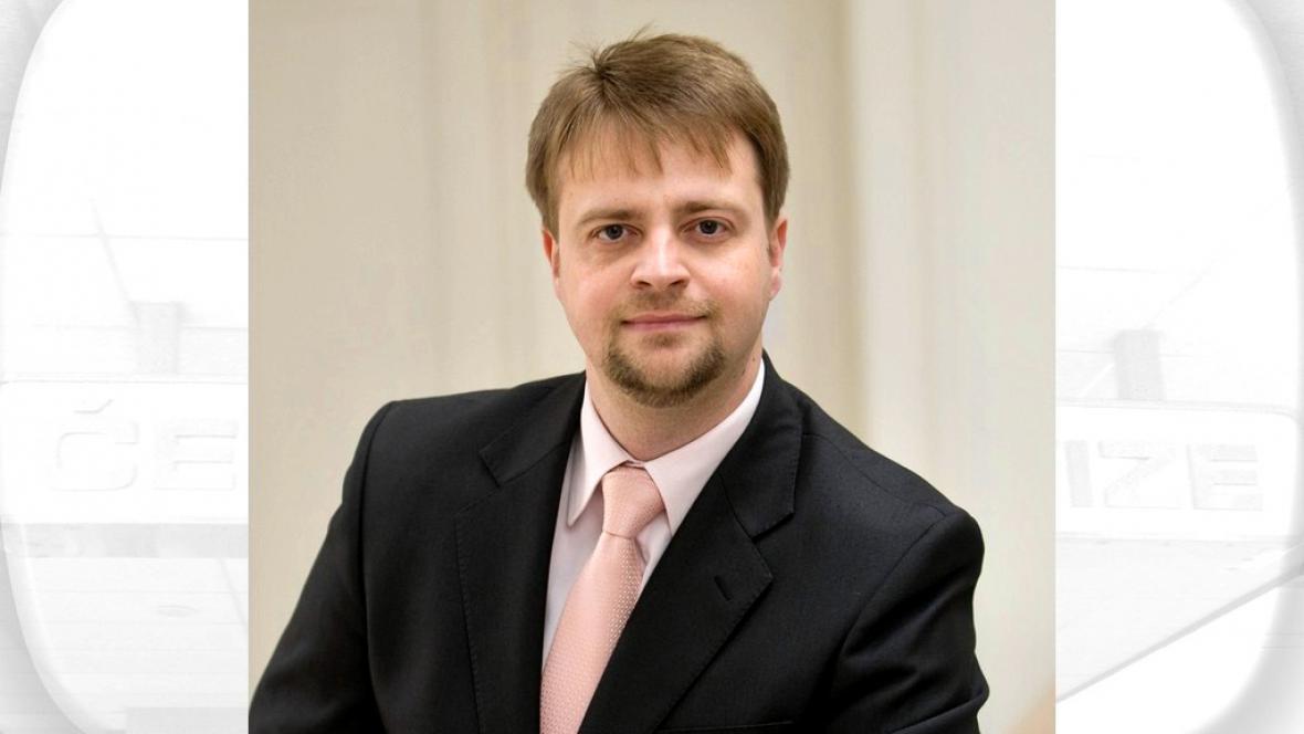 Vedoucí analytického odboru ÚS Ivo Pospíšil
