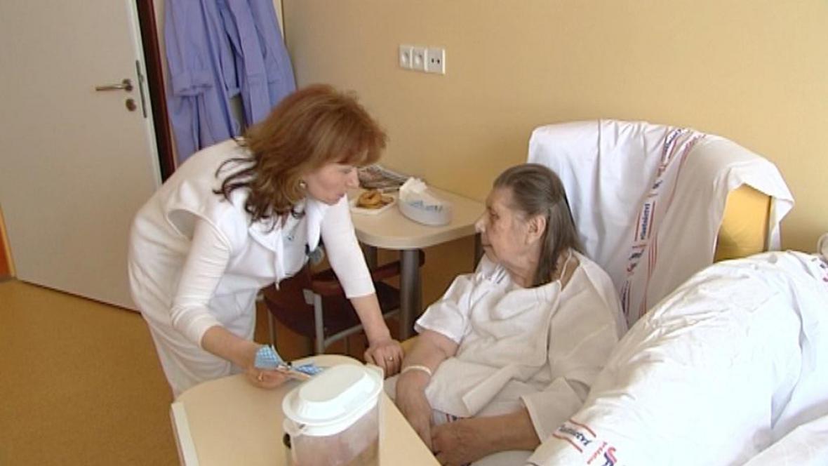 Asistentka v Nemocnici Broumov