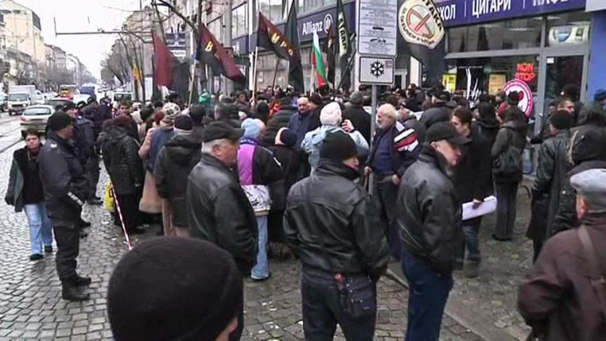 Bulhaři protestují proti drahé elektřině