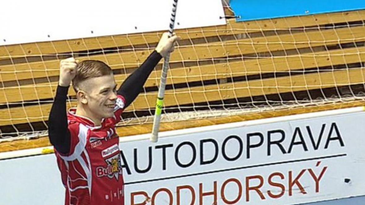 Jakub Mendrek z Bulldogs Brno