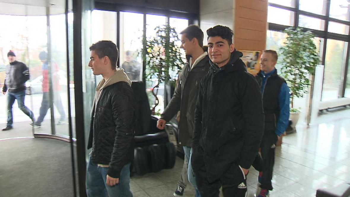 Mladí Dánové v Praze