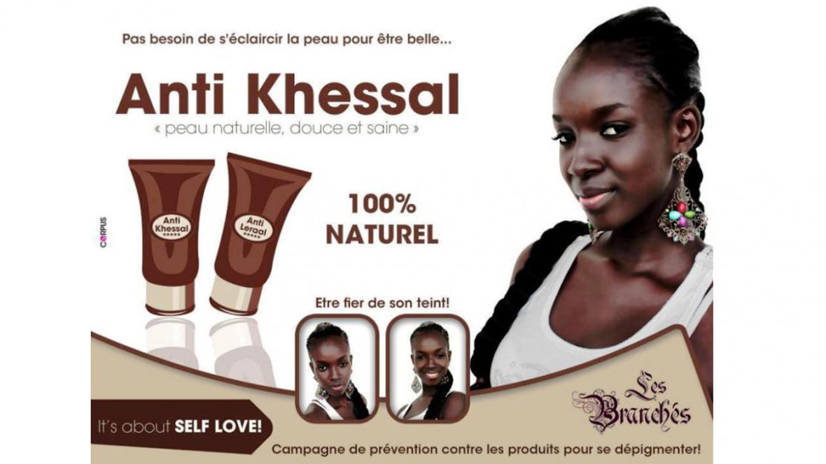 Senegalská kampaň proti bělení kůže